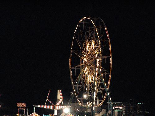 Empty Fairgrounds