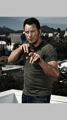 chris pratt for men's health