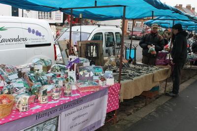 Kirkbymoorside Christmas Market 2012